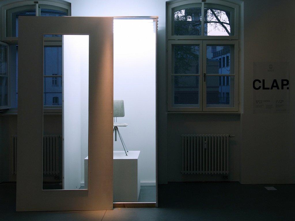A DURATIONAL CLAP II, 2016 </p> Installation / Licht