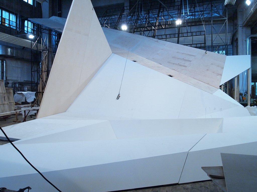 Der Zauberberg (2010) </p> Bühnenbildmitarbeit / 3D-Entwurf